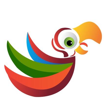 Parrot vector Vector