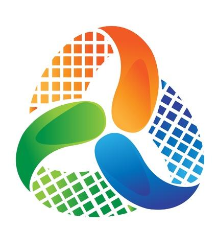 logo: Dise�o del logotipo abstracto