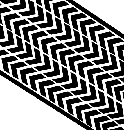 Tire print Stock Vector - 15189714