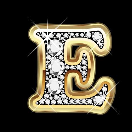 bling bling: E Gold-und Diamant bling
