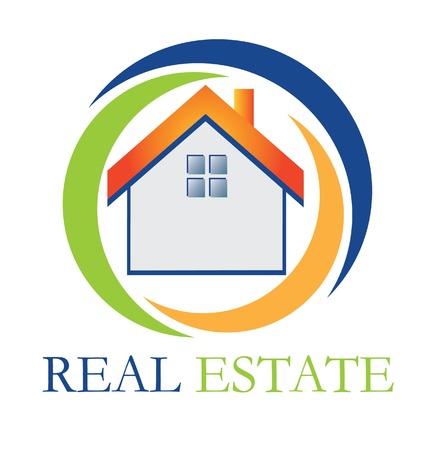 real estate: Real estate house Illustration