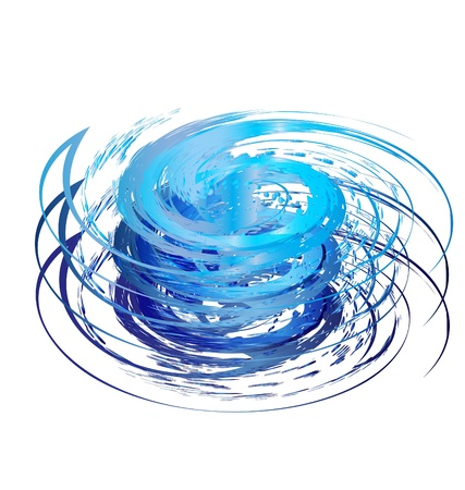 Hurricane icon logo  Vector