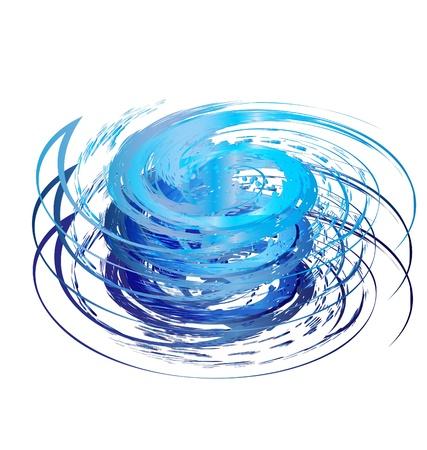 Hurricane icona logo Archivio Fotografico - 16526515