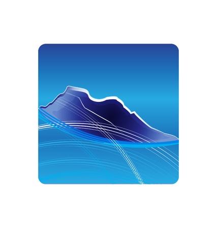 Blue Mountains logo design