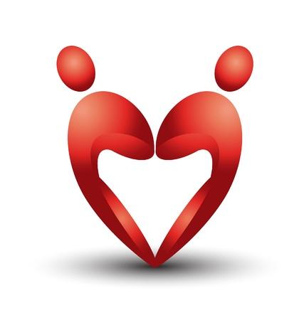 shakes: Heart figures logo