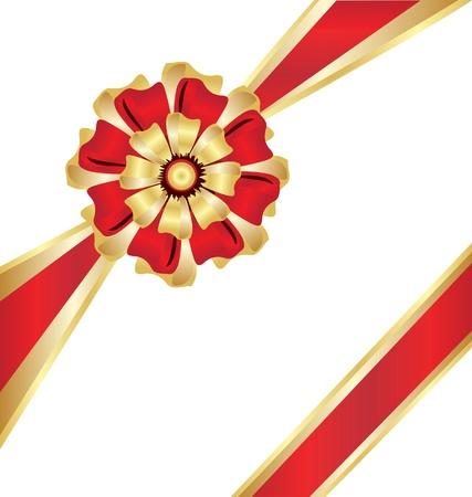 Christmas box gift ribbon Stock Vector - 16587648