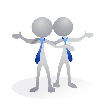 merken: Zakelijke vrienden logo
