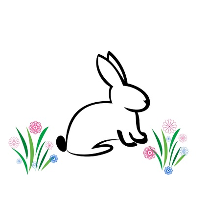 Easter Bunny illustration Vector
