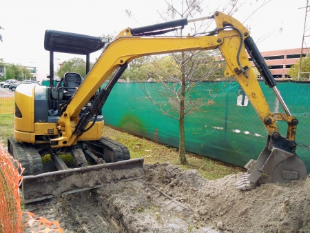 backhoe: Excavator picture photography