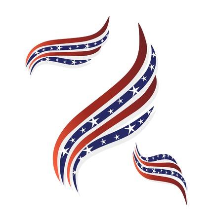 USA-Flaggen-Symbol Symbol Standard-Bild - 20541730