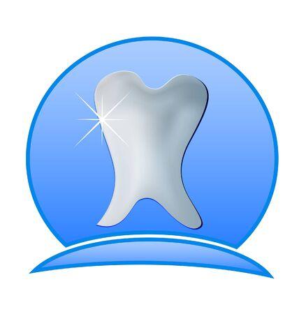 Dentistry illustration -Tooth dental icon Stock Vector - 20982915