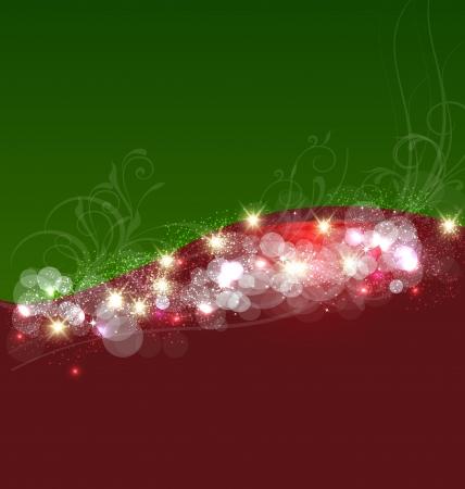 christmas template: Immagine template di sfondo vortice di Natale
