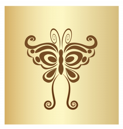 Butterfly vintage design Vector