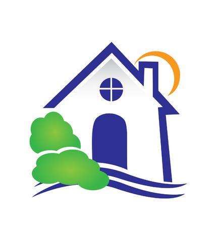zakelijk: Onroerend goed huis pictogram