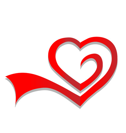 Heart symbol icon vector 免版税图像 - 23041676