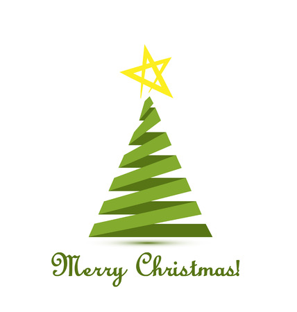 Christmas tree vector Stock Vector - 23041681