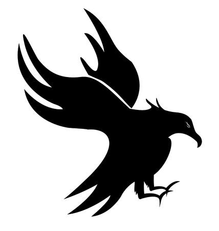 Eagle vogel vector Stock Illustratie