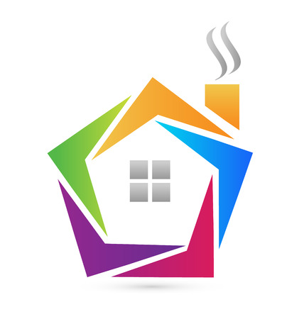 Vector of abstract house icon Vector