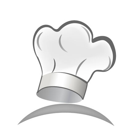 Chef hat icon vector  Illustration