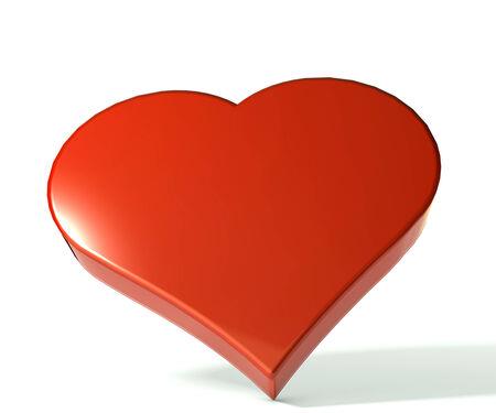 3 D Heart symbol image