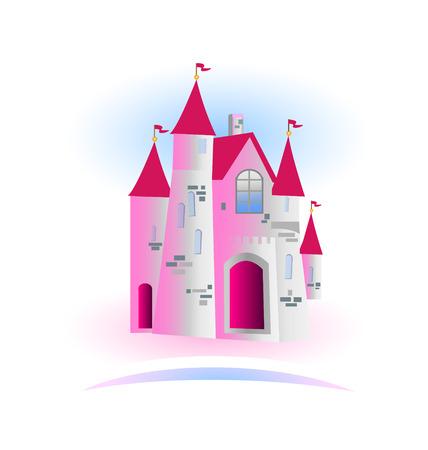 castillos de princesas: Princesa Castle Vector