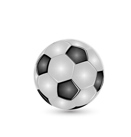 Soccer ball icon vector Vector