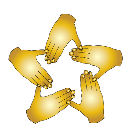 Hands agreement icon Vector