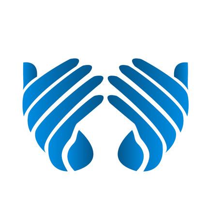 Hoffnungsvolle Hand-Symbol Standard-Bild - 26933850