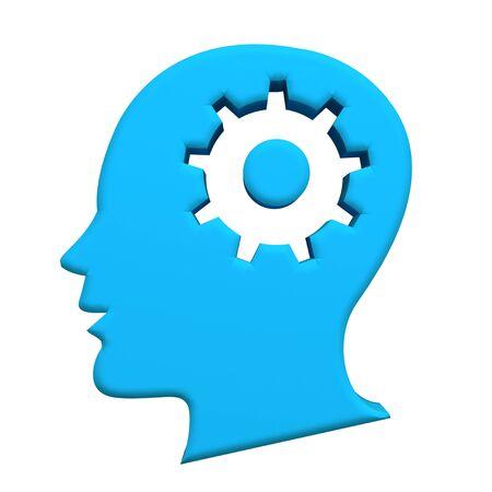 head gear: Human head gear 3d image