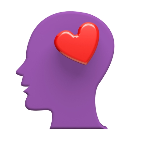love image: Think in love 3D image