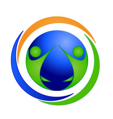 teamwork icon: Teamwork icon symbol card