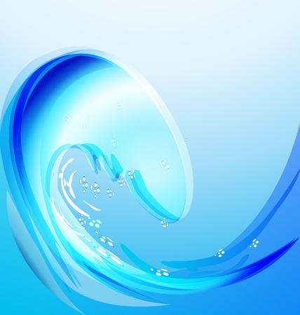 Splash beach water abstract background vector