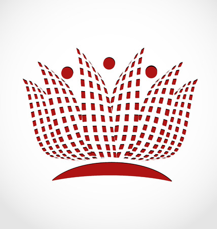 Lotus flower identity card icon vector concept Illusztráció