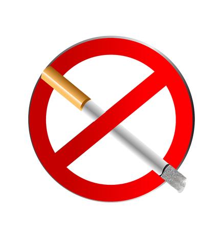 Sign No Smoking icon vector concept Vector