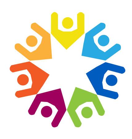gönüllü: Takım çeşitlilik insanların kimlik kartı kavramı simge