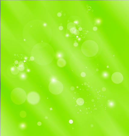 Green abstract template background vector