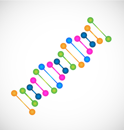 dna icon medical resources Vector