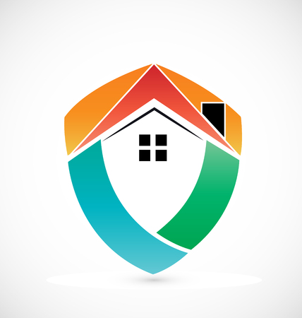 Abstract house icon vector design Vector