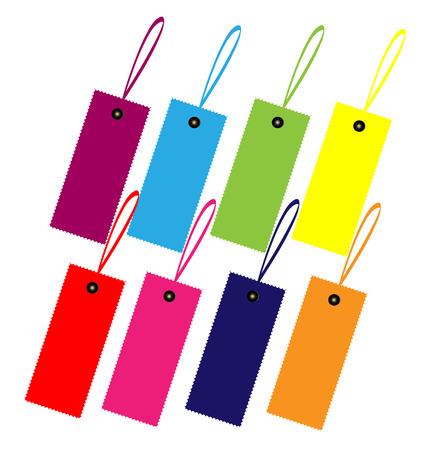 color swatch book: Color guide label design