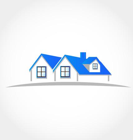 Houses apartments  Illustration