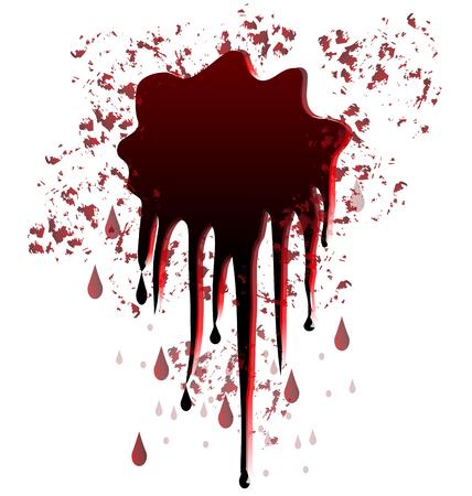 ink spill: Blood spot splash graphic