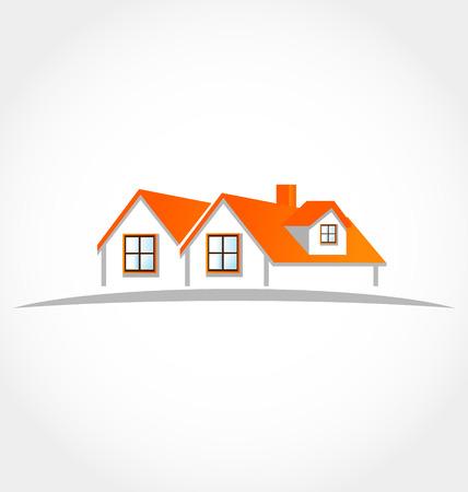 Häuser Wohnungen Vektorgrafik