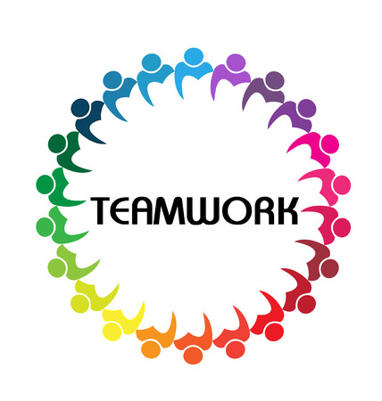 congress: teamwork business people union concept