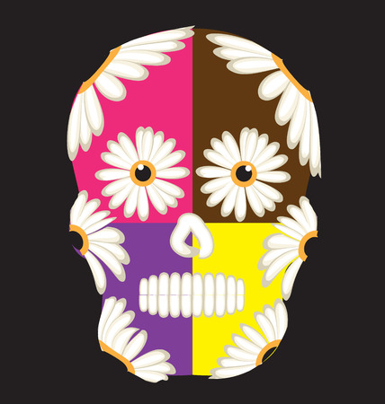 all saint day: Mexican sugar skull