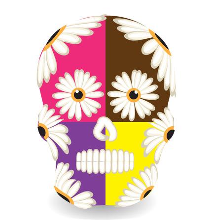 Mexican sugar skull Vector