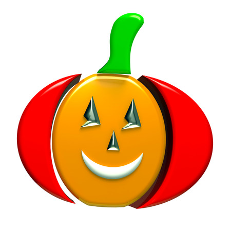 Pumpkin 3d image background photo