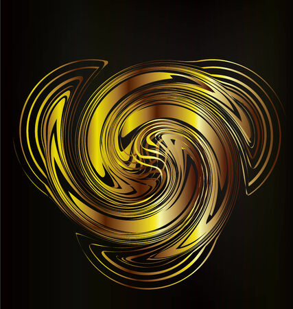 Abstract golden creative graphic design background  Vector