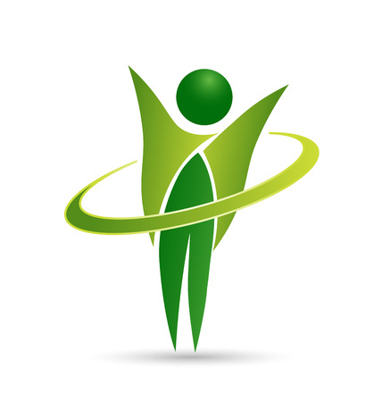 healthy exercise: Healthy life icon