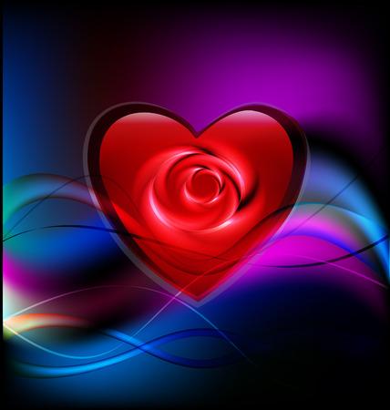 vector icone: Valentines augment� coeur vecteur de fond de mod�le ic�ne
