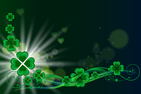 St patricks day vector background Vector